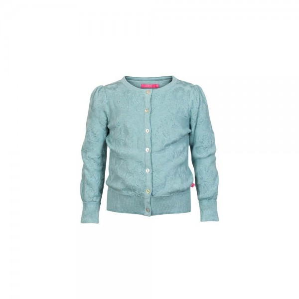 LEBIG hellblaue Strickjacke Gail