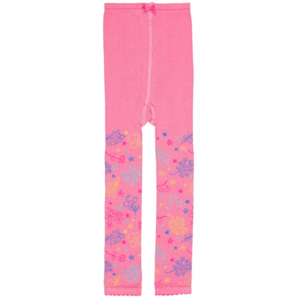 LEBIG Legging Narda in rosa-pink mit floralem Muster - tulpenkinder.com