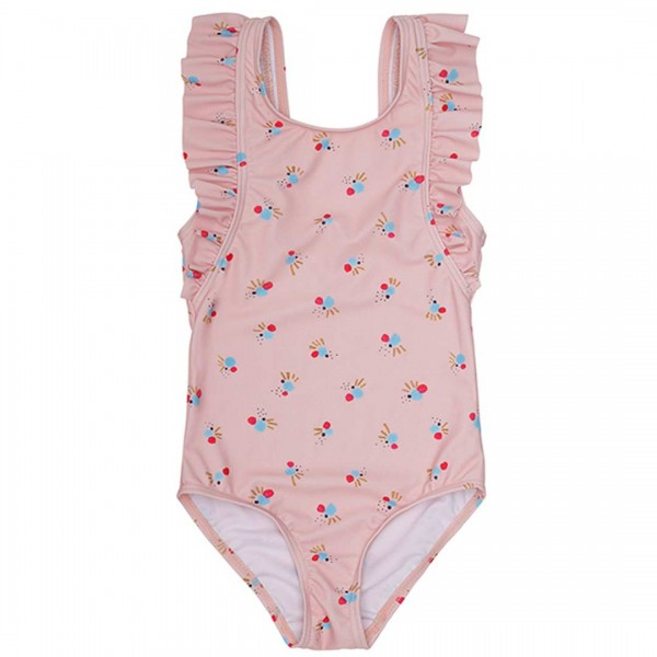soft gallery UV-Badeanzug Ana in Chintz Rose / AOP Cockatoo Swim