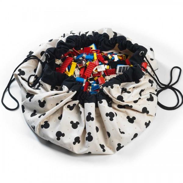 play & go Spielzeugsack mickey black