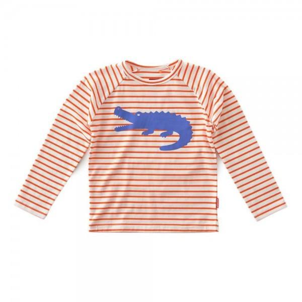 tapete Langarm-Shirt Krokodil
