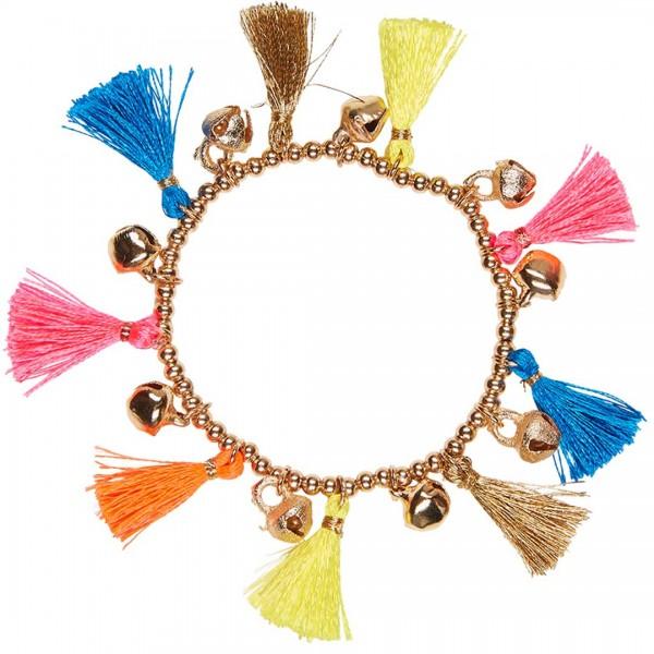 """Ein farbiges Sommerarmband """"Nouk"""" von LEBIG - tulpenkinder.com"""