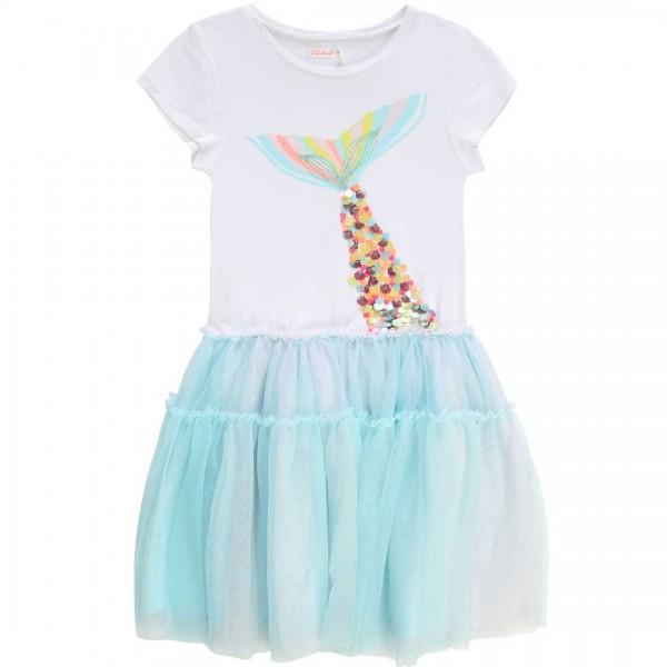 Billieblush Sommerkleid mit Tüllrock und Flossen-Applikation