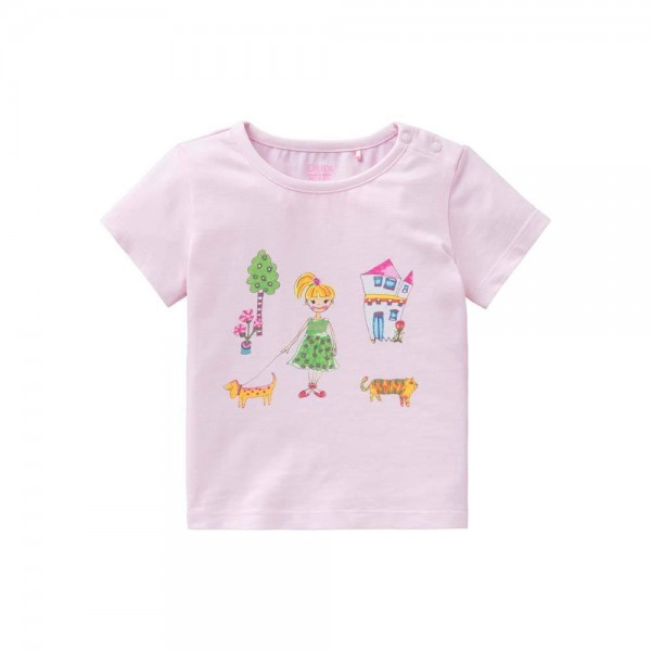 Oilily T-Shirt Ti in rosa mit Baby Jane