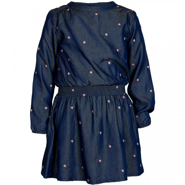 "Le Big dunkelblaues Kleid ""Tess"" mit Sternen - tulpenkinder.com"