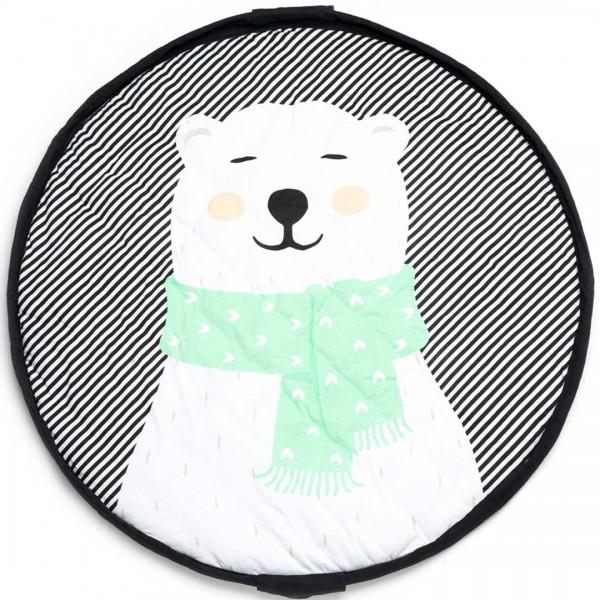 play & go 3-1 Spielzeugmatte soft polar bear