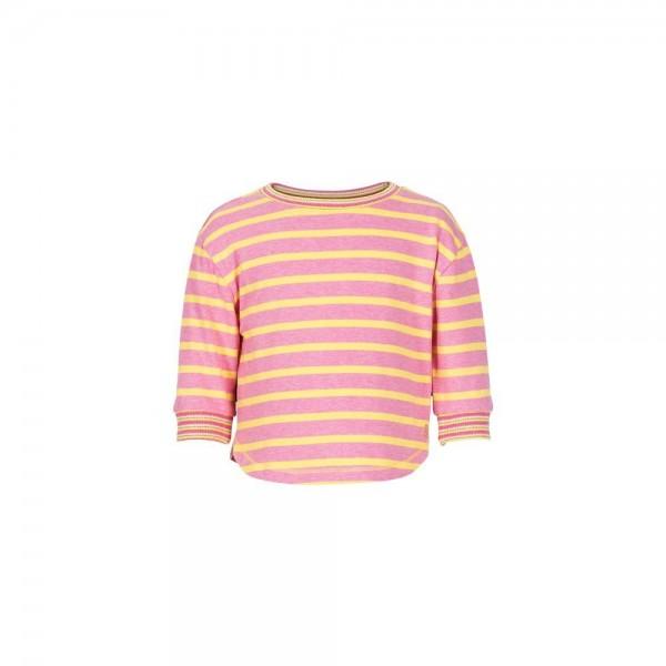 LEBIG pink/gelb gestreifes Shirt Estelle