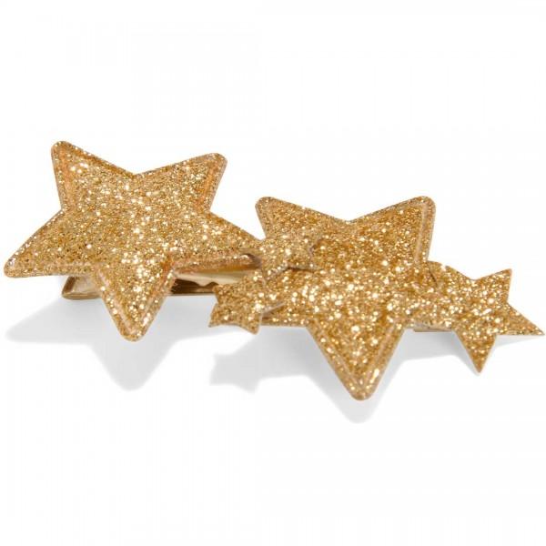 LE BIG glitzernde Sternen Haarspange Raquel - tulpenkinder.com