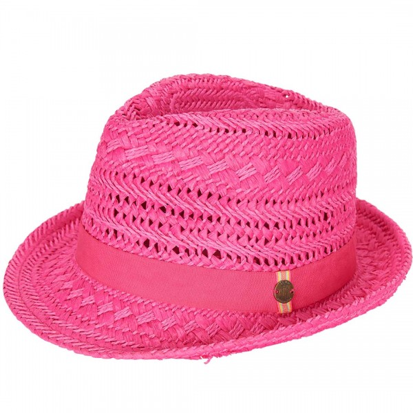 LEBIG Strohhut in pink - tulpenkinder.com