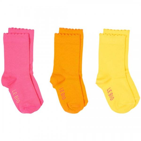 LEBIG Socken Billie 3-er Pack in Neon-Farben - tulpenkinder.com