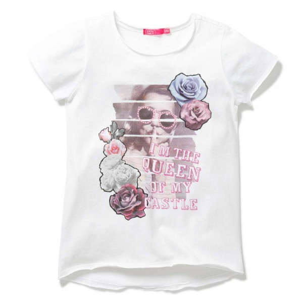 Cakewalk weißes T-Shirt Koi
