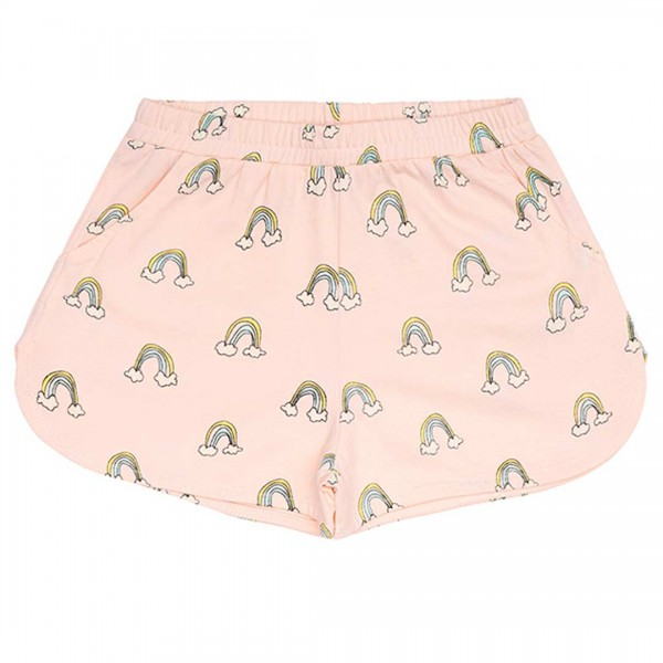 "soft gallery Shorts ""Paris"" in rosa mit Regenbogen"