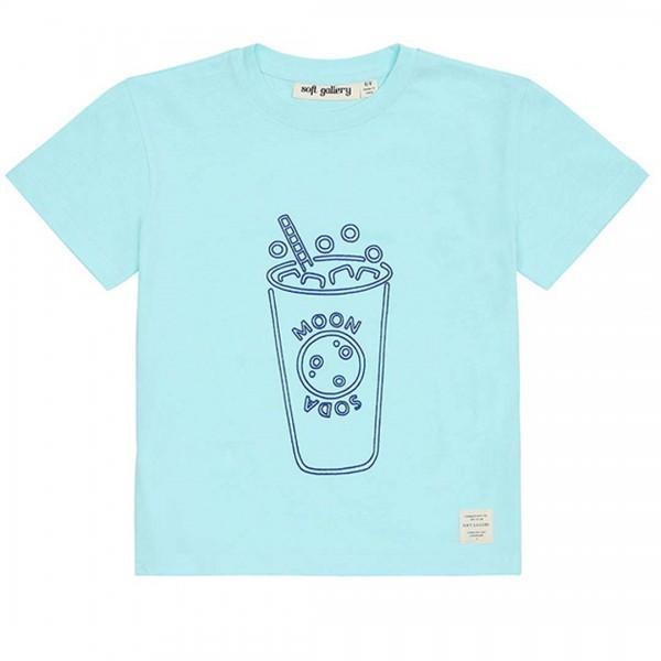 soft gallery Asger T-Shirt moon soda