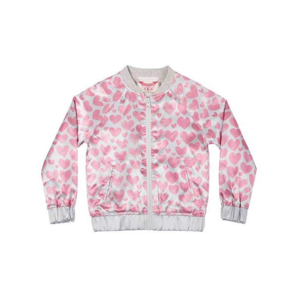 Paper Wings Satin-Bomber-Jacke