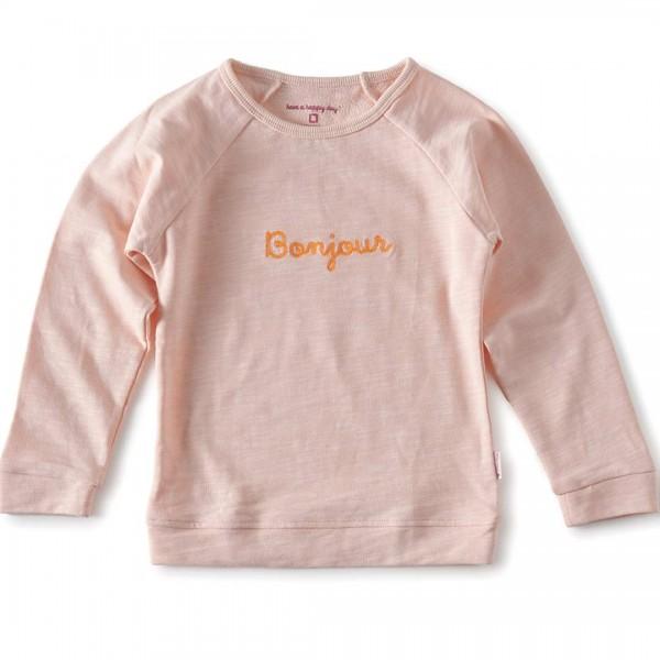 """tapete Sommer-Sweater """"Bonjour"""" für Mädchen"""