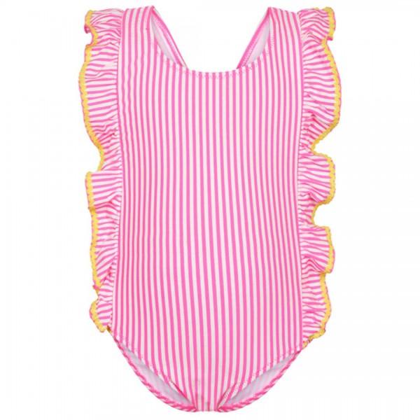 LEBIG neon-pinker Badeanzug Noelle